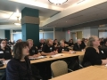 Delegates and state agency representatives listen to the presentations during our first agency meetings