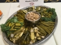 """Door and Kewaunee County foods at our evening reception at the Premier Park Hotel. — with Wienke's Market """"A Taste of Door County"""""""