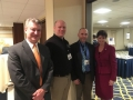 Rep. KItchens, Caleb Frostman, Michael Welsh (WEDA) with Lt, Governor Kleefisch